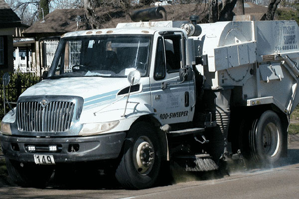 Street Sweeping Services | Mister Sweeper